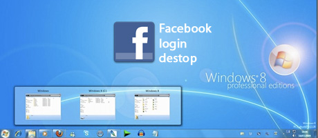 desktop facebook login